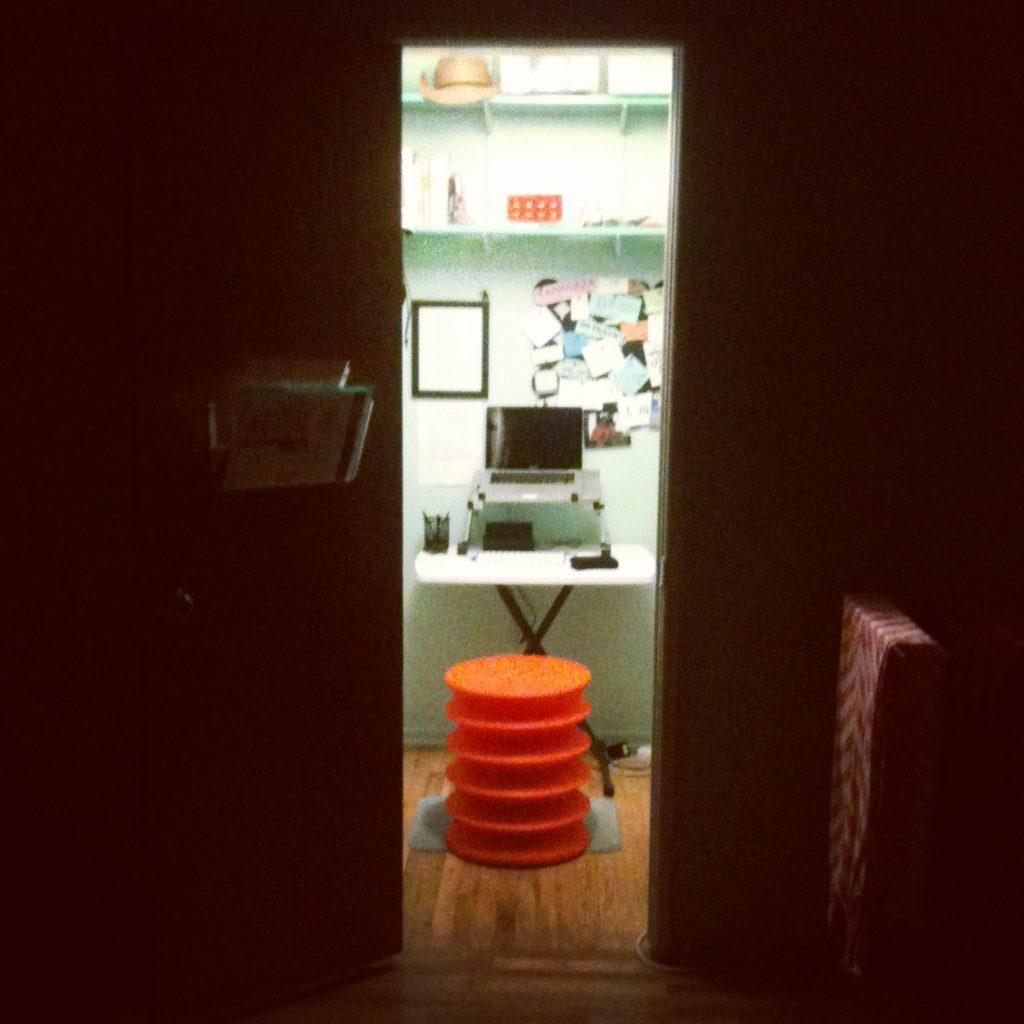 My 3X5 office