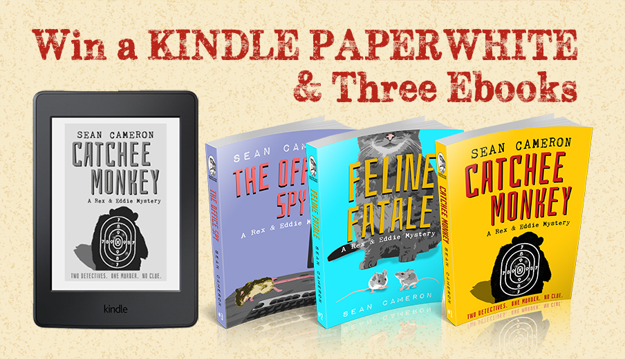 Win a Kindle Paperwhite and three eBooks